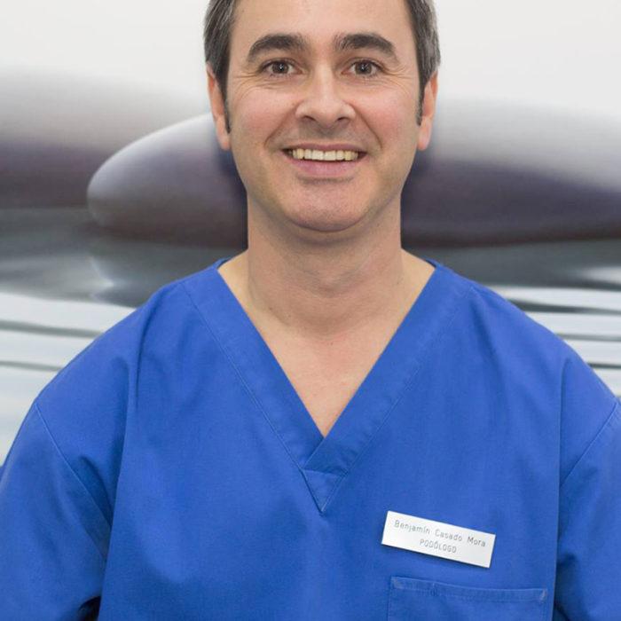 Benjamín Casado (Podólogo y Especialista en Ortopedia)